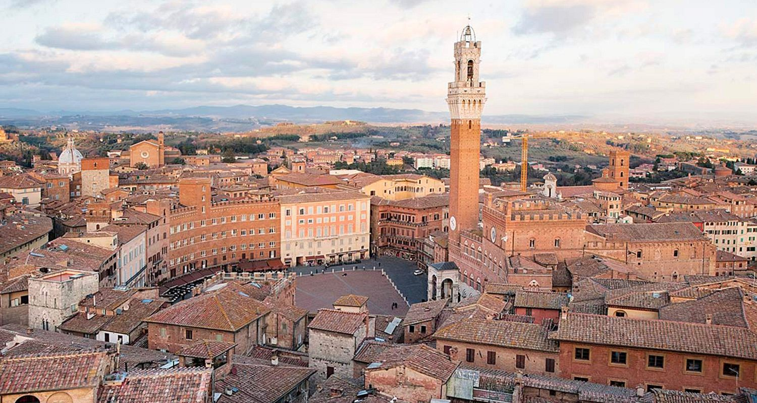 From Florence to Rome with stop in San Gimignano & Siena